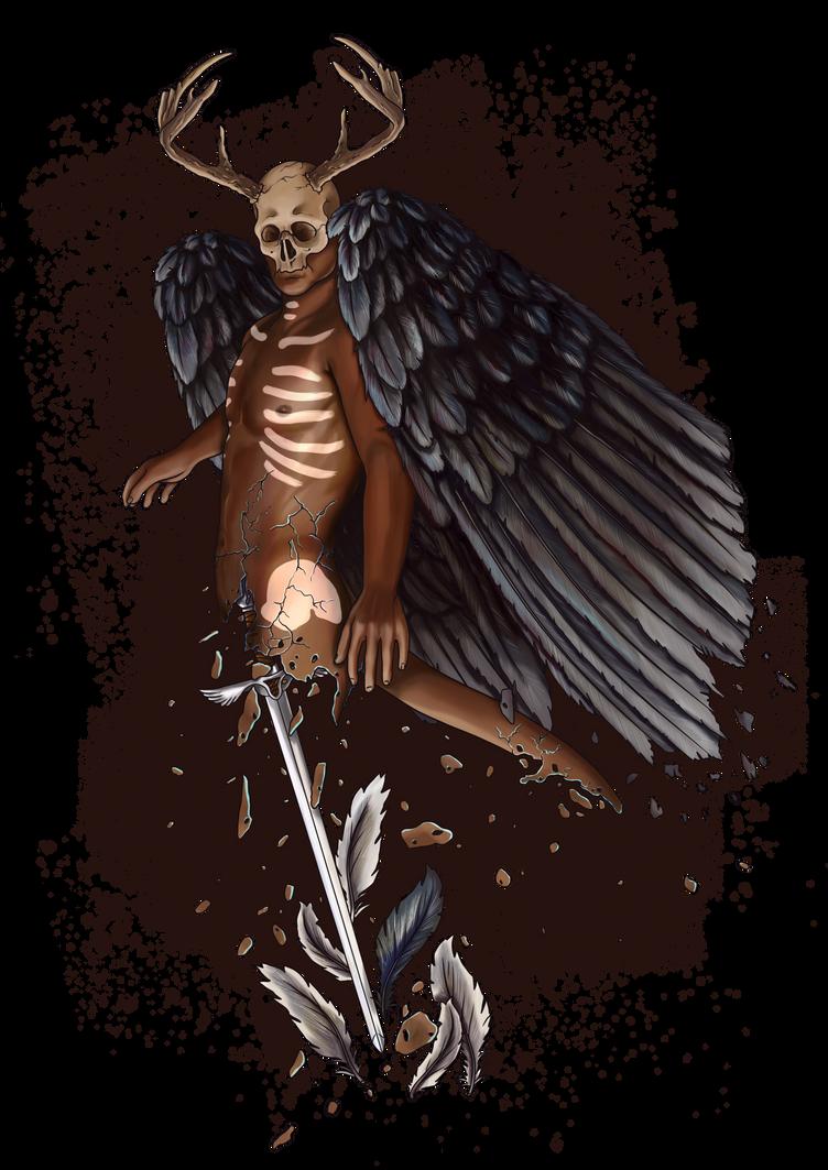 Dark angel by emire-gull
