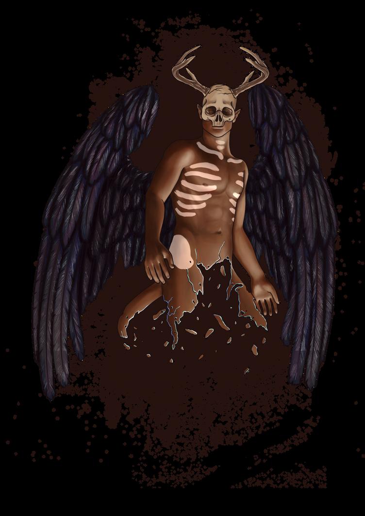 Dark angel 2 by emire-gull