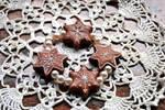 Christmas cookie bracelet