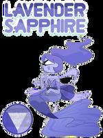 Gem adopt / Lavender Sapphire (closed) by TrustyArts