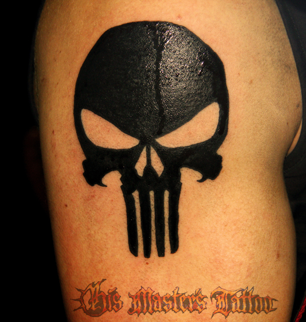 punisher tattoo by rkmcmetal on deviantart