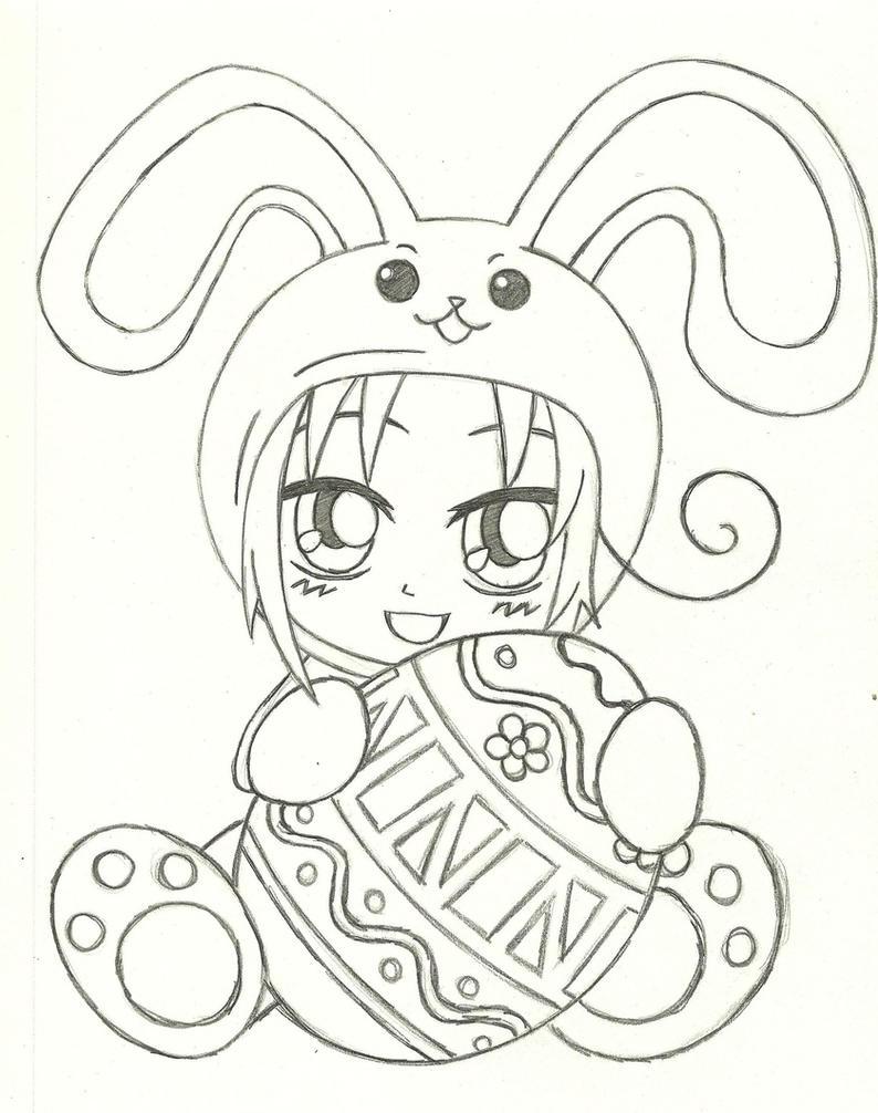 Hetalia: Chibi Italy Easter Bunny by Gelabird on DeviantArt
