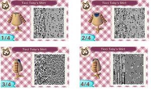 Animal Crossing New Leaf Ticci Toby Shirt