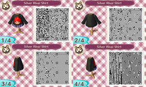 Animal Crossing New Leaf Silver Rival Sprite Shirt