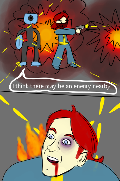 Fallout 4 - Ada's an idiot by Eusong