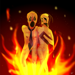 Fleshport Contest Entry: Burning For Your Sins by Eusong