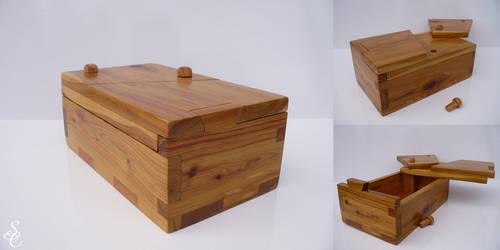 Cypress Pine Puzzle Box