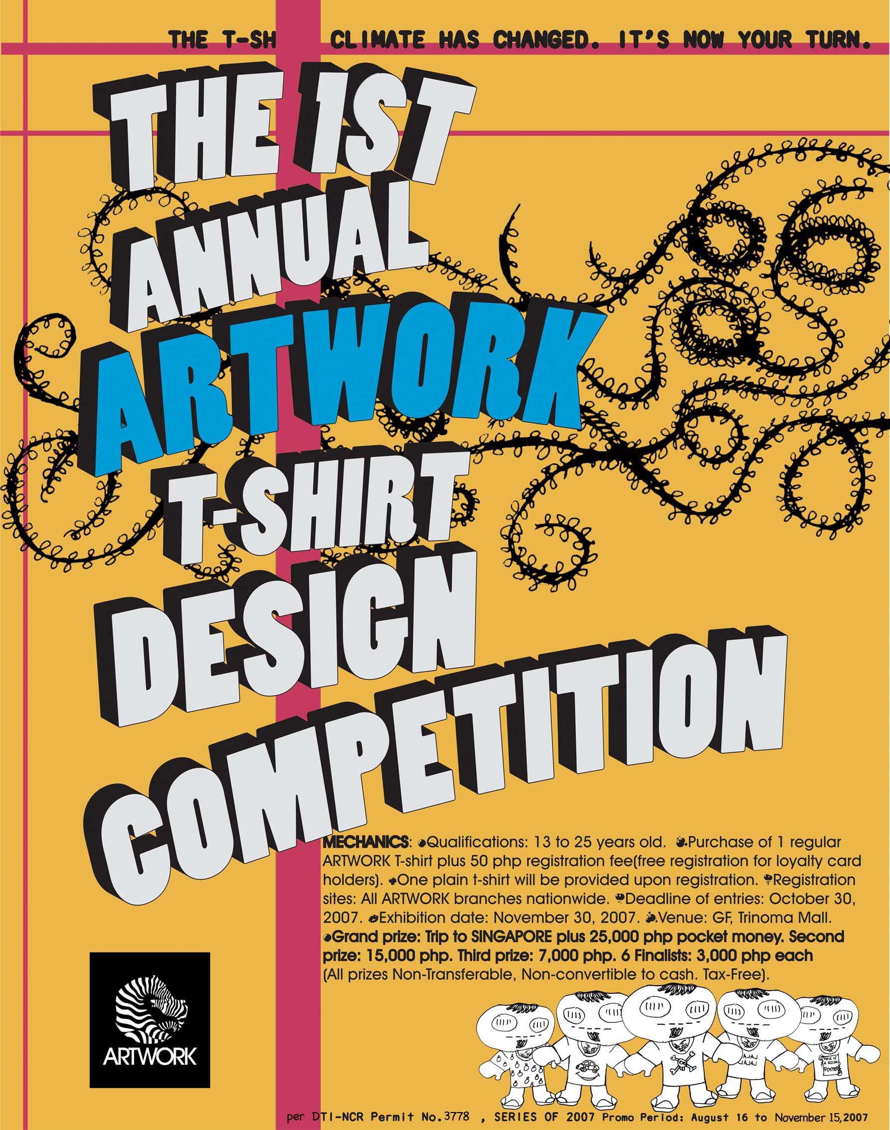 artwork tees shirt design competition contest graphic