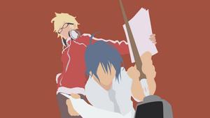Minimal Moritaka Mashiro and Akito Takagi| Bakuman