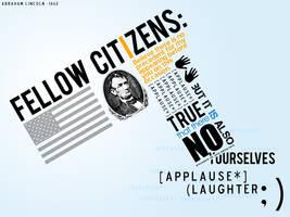 Lincoln Invents the Emoticon