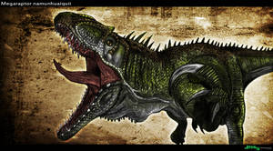 Megaraptor ~Teratophoneus by TheJiggyMonster