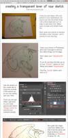 Transparent Sketch Tutorial - Photoshop CS6