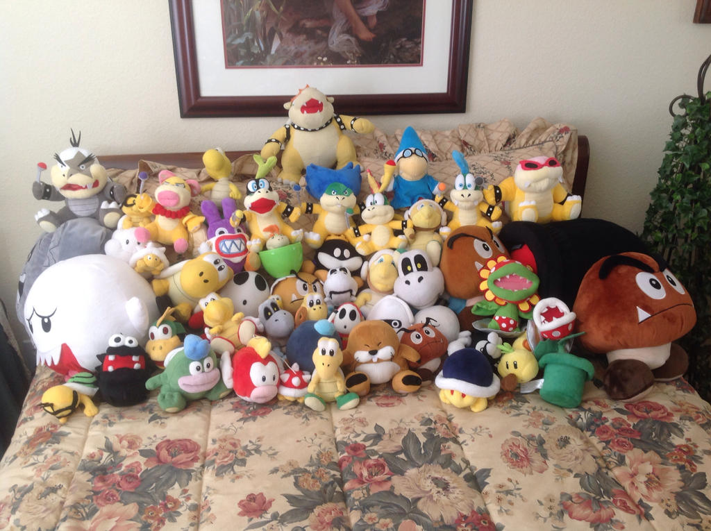 Koopa Family Photo by LuigiFan00001