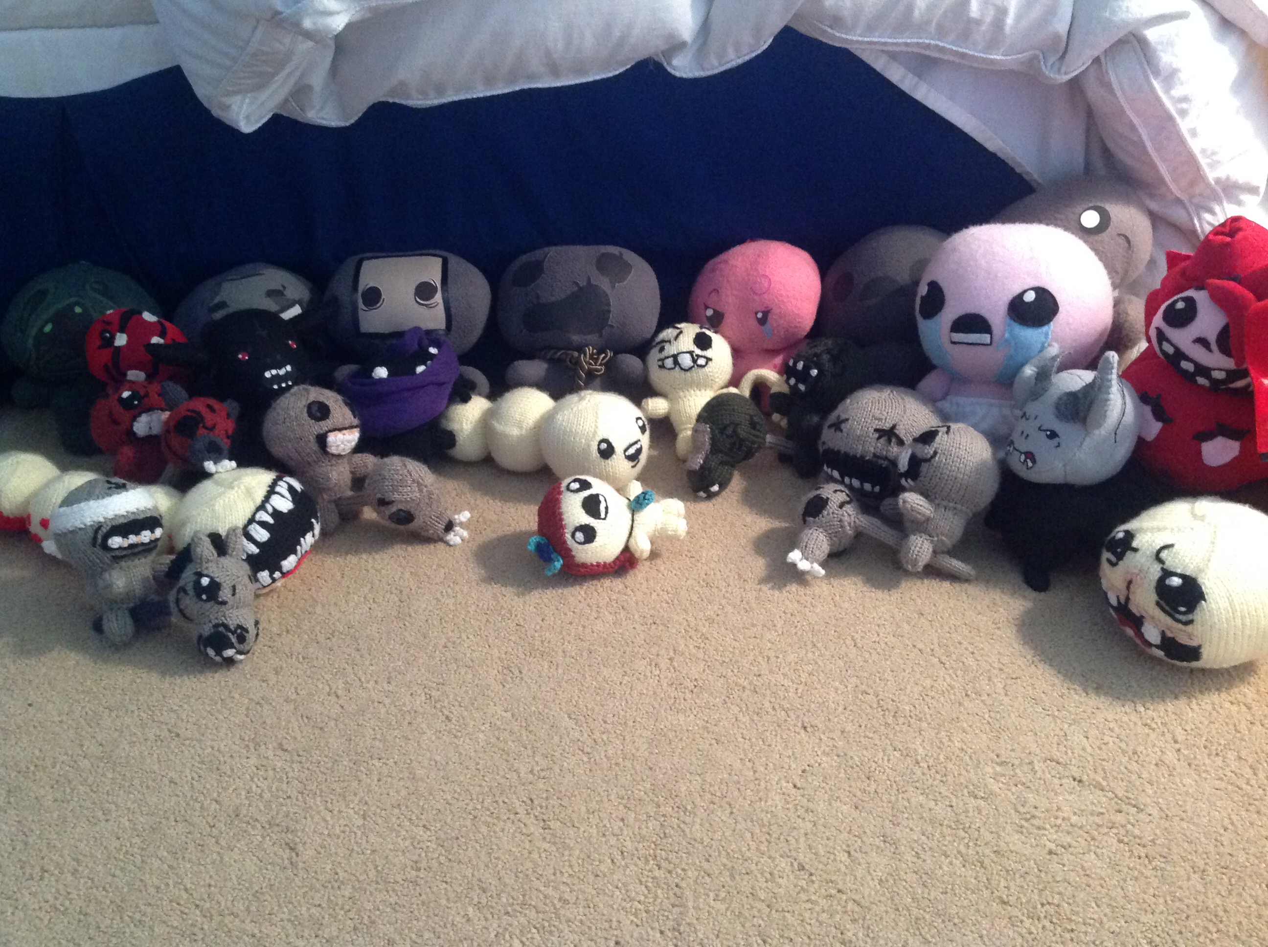 The Binding of Isaac Plush Collection. by LuigiFan00001