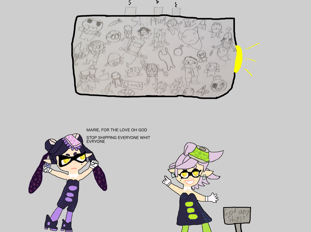 MARIE, FOR THE LOVE OH GOD STOP SHIPPING EVERYONE by LuigiFan00001