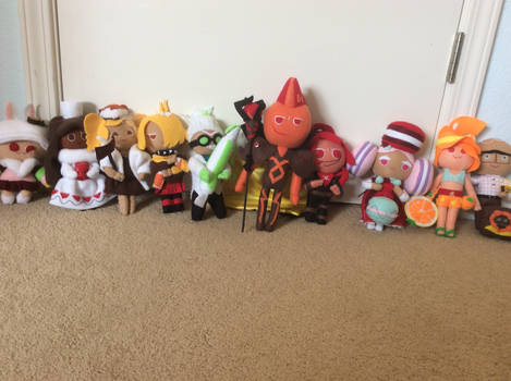 My Cookie Run Plush Collection by LuigiFan00001