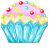 FREE ICON - Cupcake [Without Sprinkles] by UmaruShizuyo