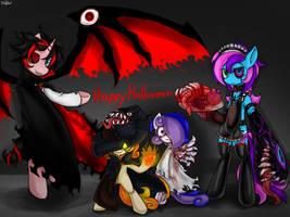 Happy Halloween by BlazeHart96