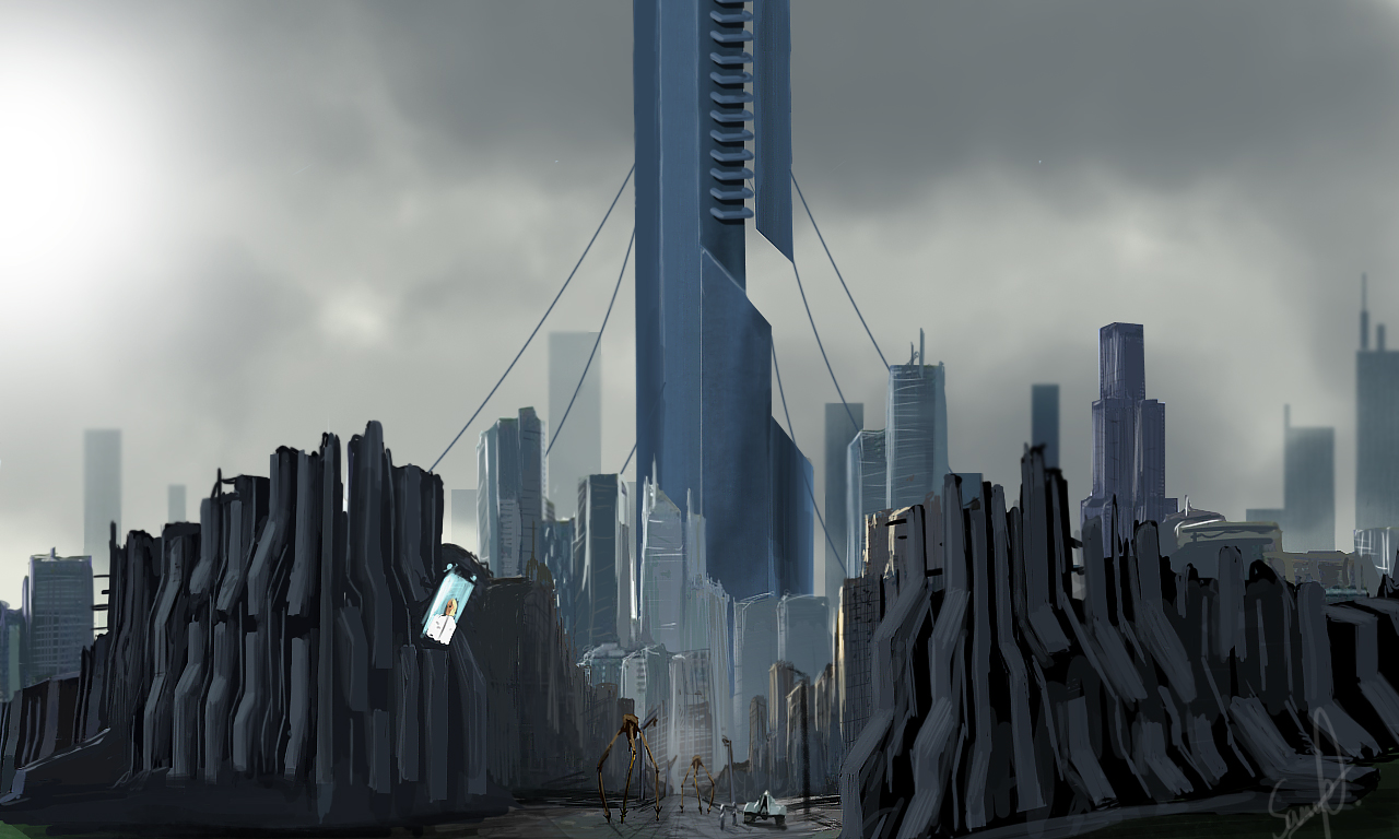 City 17 - Strider Patrol by xpsam