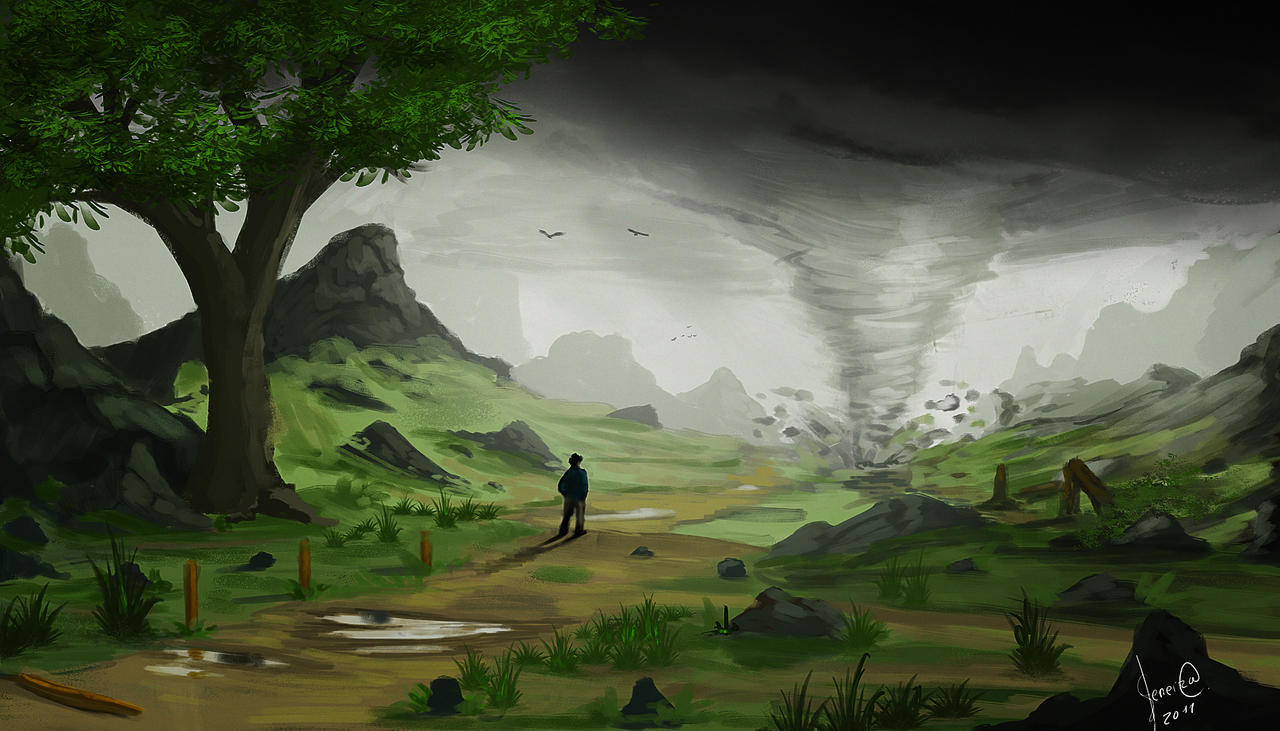 Tornado realidade by xpsam