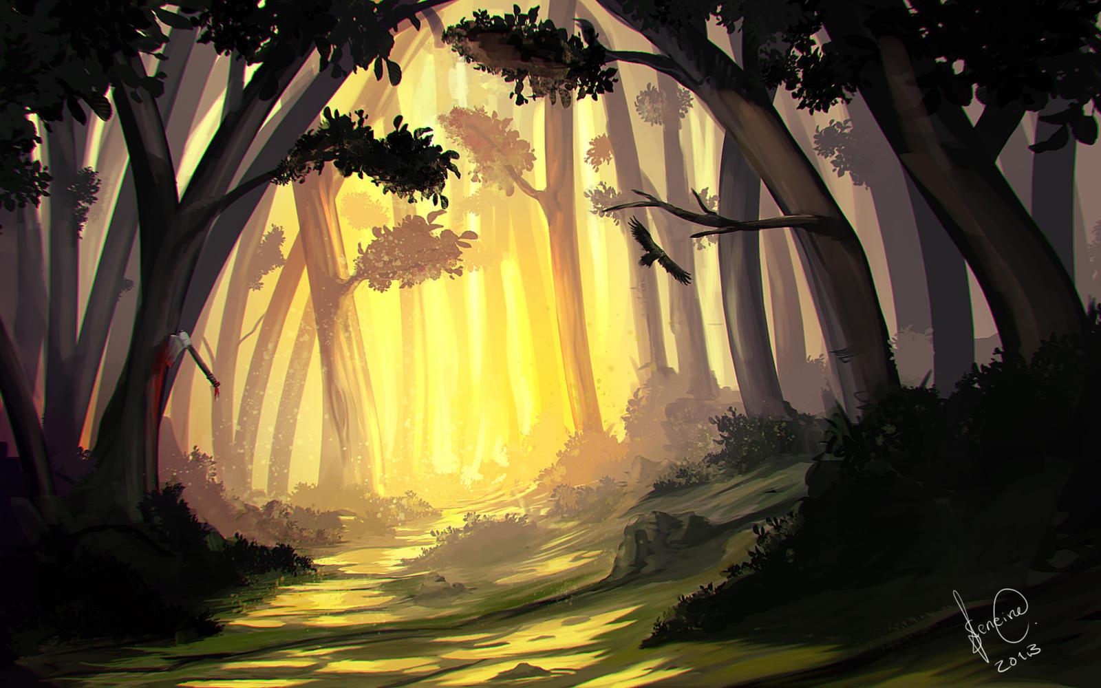 Forest Speedy by xpsam