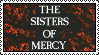 The Sisters Of Mercy Stamp by Postmorteum