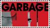 Garbage Stamp by Postmorteum