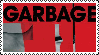 Garbage Stamp by Postmorteum