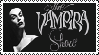 The Vampira Show Stamp by Postmorteum