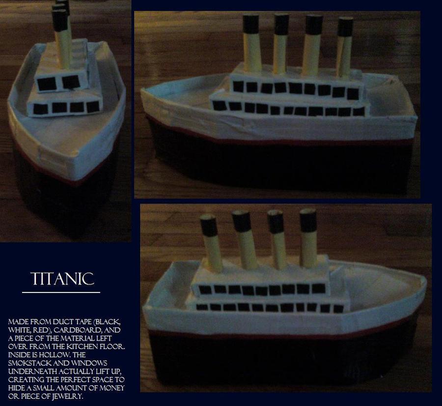 84913613e54776 Titanic Model by daagelle on DeviantArt