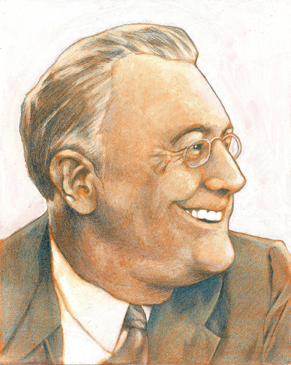 Franklin D. Roosevelt by Cbatista