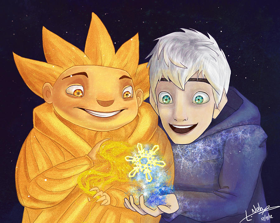The Golden Snowflake by Lock-Nah
