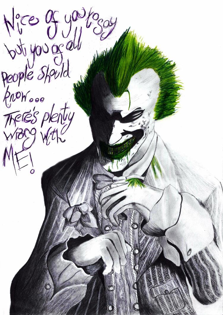 Sick Joker by VelvetRedBullet