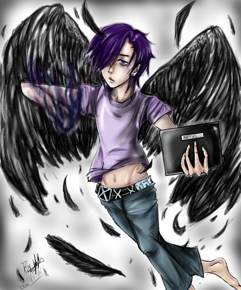 Urushihara Hanzo Lucifer by EpicNinjaArtist