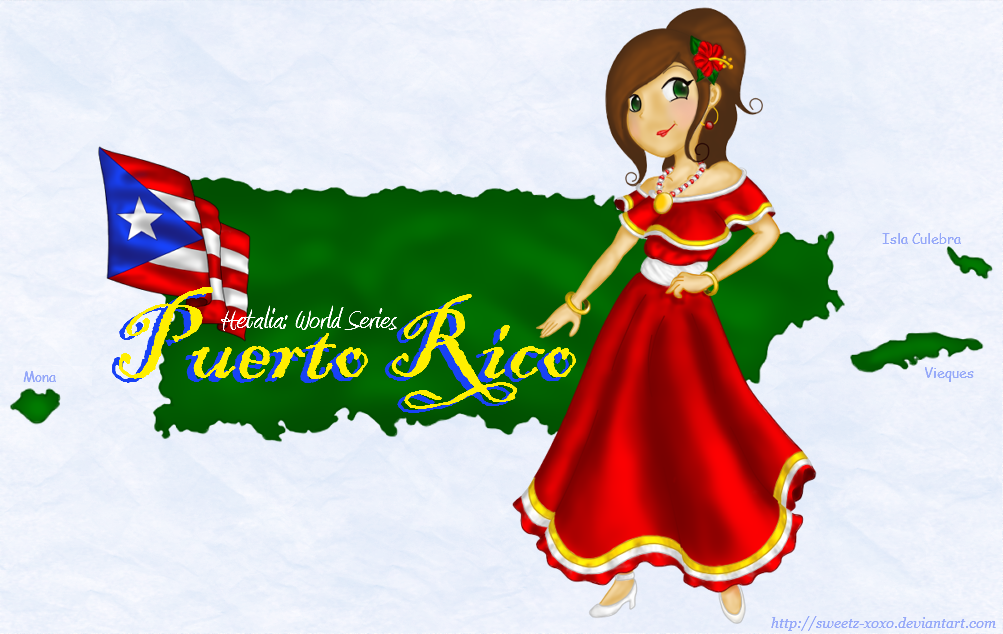 aph puerto rico by sweetz xoxo on deviantart Chinese Flag Clip Art Spain Flag 2015