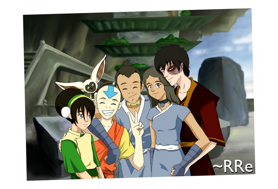 Zutara Week: Family by RRe