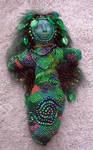 Forest Spirit Beaded Doll