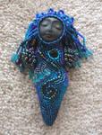 Beaded Mini River Goddess Doll