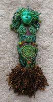 Grow - Beaded Goddess Doll by jardan