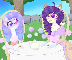 Sweet Lil Tea Party by luciusheart