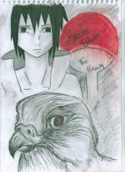 sasuke: the hawk by Nia007