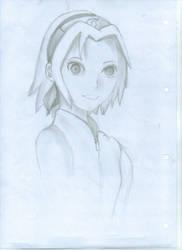 sakura sketch by Nia007