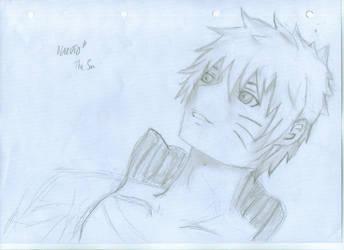 Naruto sketch by Nia007