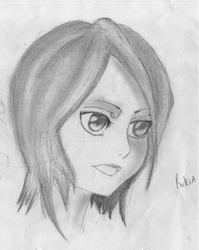 Rukia Sketch by Nia007