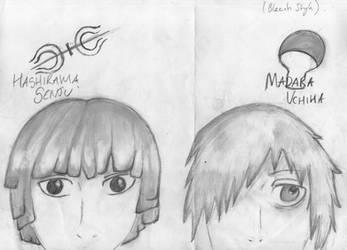 Hashirama And Madara by Nia007