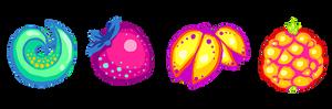 vector fruit