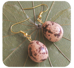 quail egg earrings