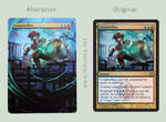 M:tG altered card - Counterflux