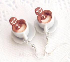 Gingerbread Spa earrings
