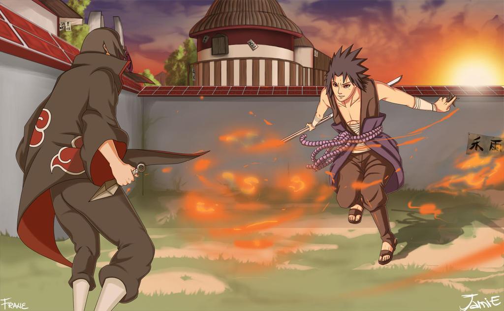 Imagenes de Itachi vs. Sasuke